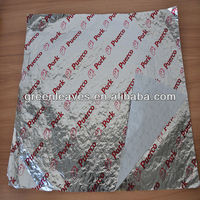 Hot Sell Burger Foil Wrap