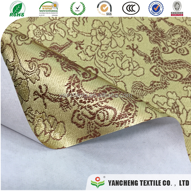 hot china style special paper material is jacquard fabric backed paper for wrapping paper for bouquets