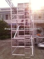 8M height double width hanging scaffold