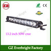 13.2 inch 70W led light bar combo light single row led light bar
