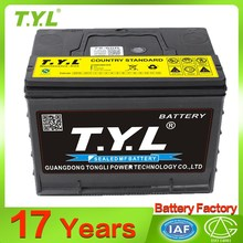 Christmas New year global car battery with certificate