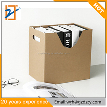 China Supplier Office School Supplies Custom Logo Desktop Paper Cardboard File Holder