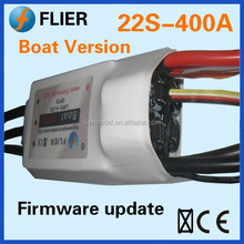 Flier powerful HV 90V rc boat brushless ESC 400A
