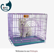 Manufacture best quality pvc coated folding dog cage