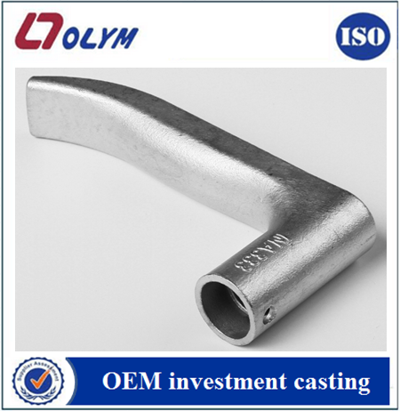 OEM door locked handles spare parts precision investment castings