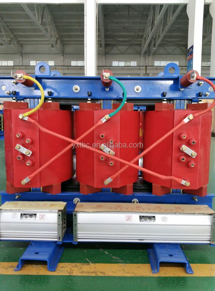 SCB Series 630kva insulation H class 10kv air cooled epoxy resin transformer