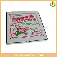 Customized design offset printing pizza box