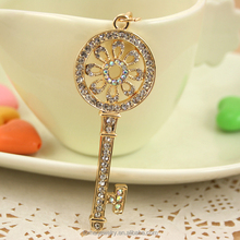 MOQ 12pcs key Crystal Rhinestone Keychain Promotional Gifts Key ring SK1518
