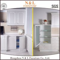 High Quality PVC shaker Complete Kitchens With Kithen Unit/Cabinets/Cupboards