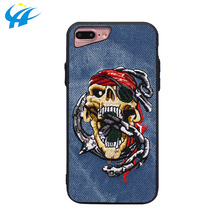 denim mobile phone case cross stich anime phone case for phone