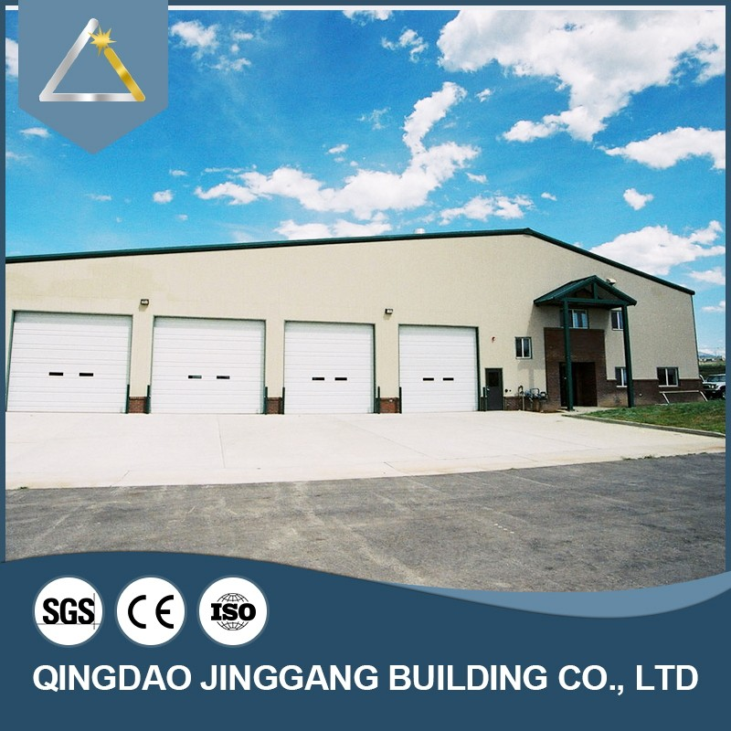 New Design Steel Structure Modern Prefab Ware House