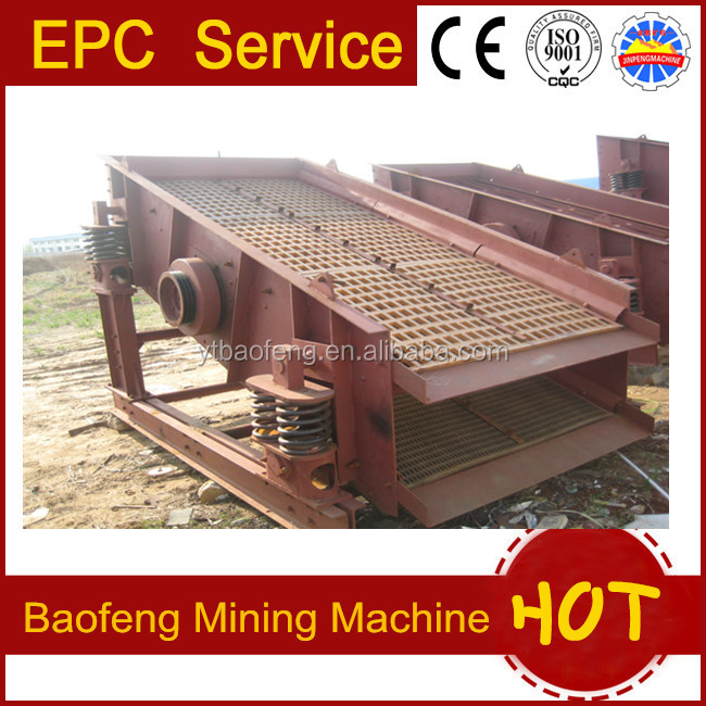Hot sale vibrating screen used in Africa