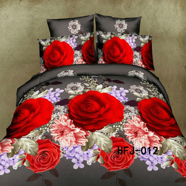 cheap and 100% polyester 3d cutwork bedsheet applique bedsheet