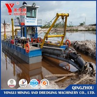 hydraulic channel cutter dredger/desilting machinery/channel dredging