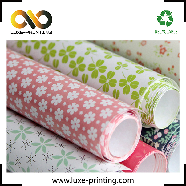Decorative machine cutting paper printable gift wrapping paper