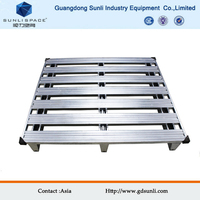Heavy Duty Stackable Galvanized Stainless Steel Pallet