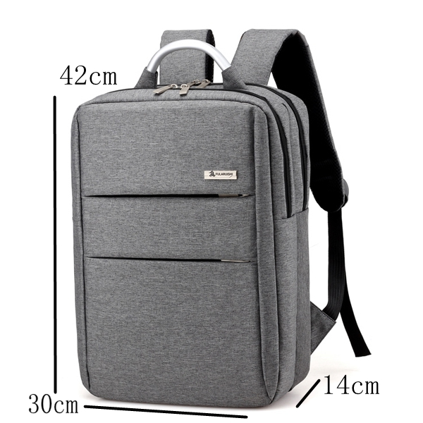 Multifunction unisex aluminum handle school day backpack business laptop backpack bag