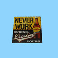 Handmade Absorbent Ceramic Tile Drinking Cork Coaster