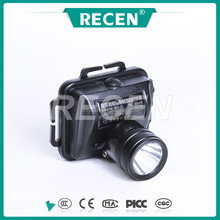 IP65 3w China factory alloy material Rechargeable explosion-proof led headlamp flashlight