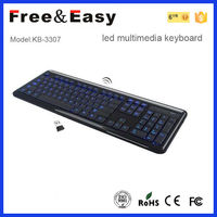 Shenzhen factory wireless keyboard for panasonic viera smart tv