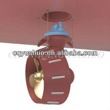 Marine Azimuth Thruster with Nozzle