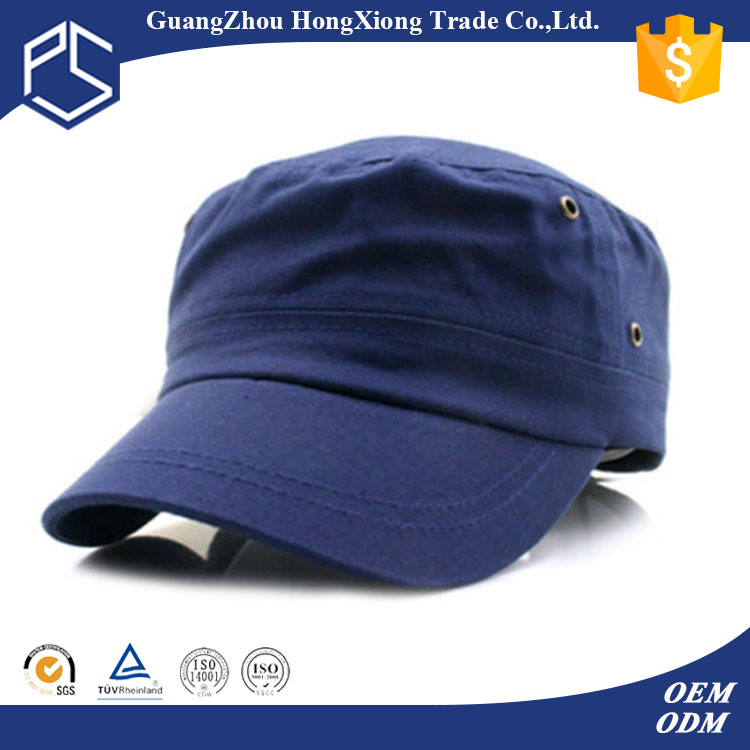 Metal eyelets fitted types of wholesale military hats