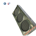 Household aluminum fin air conditioning refrigeration condenser