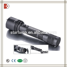 High Power 600 Lumens Torch Focus Zoomable led Rechargeable Flashlight