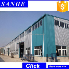 iron construction building / factory steel structure