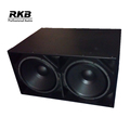 PG-218 double 18 inch subwoofer