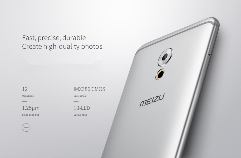 Original Meizu Pro6 plus Octa Core Front 5.0Mp and Back 12.0Mp RAM 4GB/ROM 64G 2560*1440 Pixels smartphone