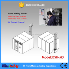 BSH-M3 High quality price car paint booth /paint drying oven/car paint mixing room(CE, ISO approved)