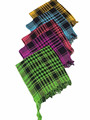 Cotton Shemagh Arab Scarves in Neon Colors