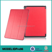 3 folding smart cover for ipad pro case,for ipad pro tablet accessories case