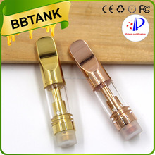 2017 No wick cbd tank atomizer cartridge 510 ceramic wickless vaporizer glass