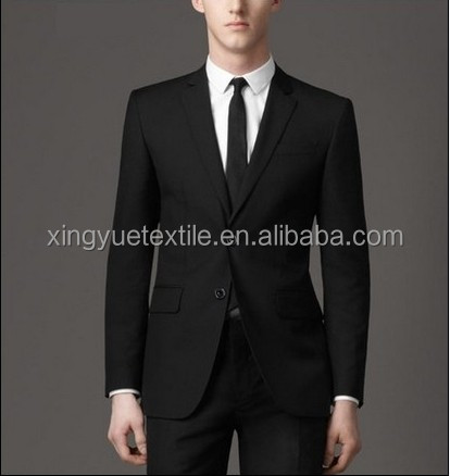 mens 100% poly cheapest slim fit suit
