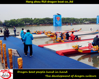 22 persons dragon boat