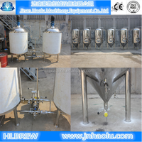 800L Turnkey beer brewery plant , Beer brewing equipments with high quality Yeast/hops/Wheat