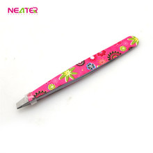 Wholesale Beautiful Girl Various Style Stainless Steel Beauty Eyebrow Tweezers
