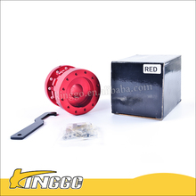 Hight Performace Red racing Car Steering wheel Heightening Device