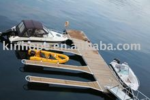 Hot dipped galvanized heavy duty steel floating dock