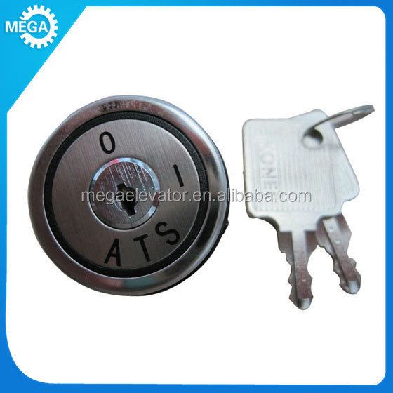KONE elevator parts ,KM747076G10 key switch for kone ,lift door lock