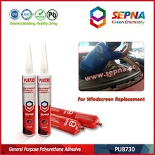PU8730 adhesive sealant usable life of 9 months from the date of production puncture repair liquid tyre sealant