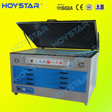 screen printing uv unit exposure with drying cabinet