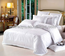 2015 china 100% cotton main product use hotel Sateen duvet and stripe bedding set home textile