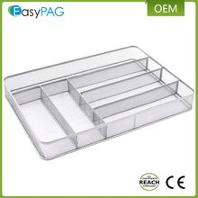 Factory Direct Supply OEM Factory Kitchen Metal Layered Cutlery Tray