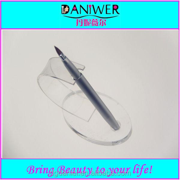 Cherry Shaped Single brush for lip silver aluminum makeup lip brush