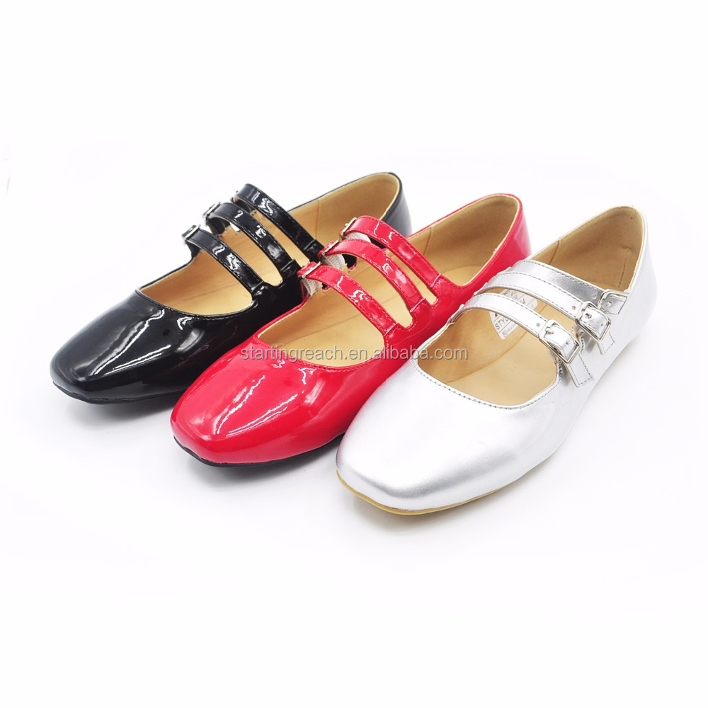 Latest 2017 Cheap price ballet flat shoe for girl flat fashion women shoes