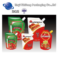 Heat seal moisture proof food grade food plastic bag/ food packaging bag