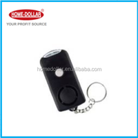 130dB Mini Personal Alarm With Light